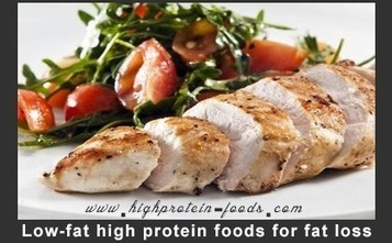 Low-fat high protein foods for fat loss | high protein foods to increase protein Intake | Scoop.it