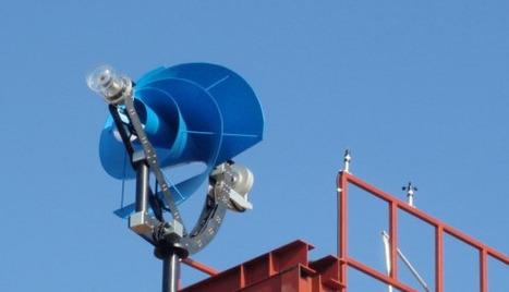 Une nouvelle génération d'éoliennes urbaines. Plus efficace. Moins sonores | CLEAN ENERGY (Production, Storage, Smart Grid,...) | Scoop.it