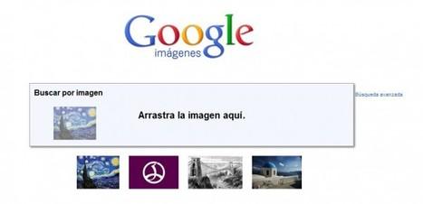 Cómo utilizar imágenes para iniciar búsquedas en Google | Recull diari | Scoop.it