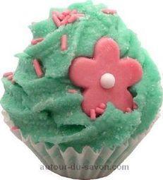 Cupcake de Bain Senteur Fleurie | Autour du Savon | Scoop.it