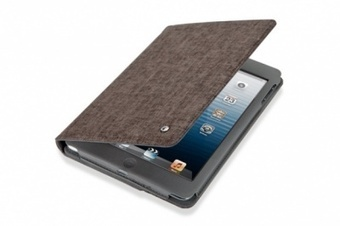Anywhere-M  canvas cover for iPad mini -  Coffee brown | ThePadZone | Scoop.it