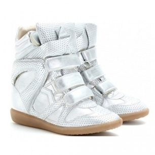 Isabel Marant Wedges High Tops Silver   Isabel Marant Shoes   Scoop.it