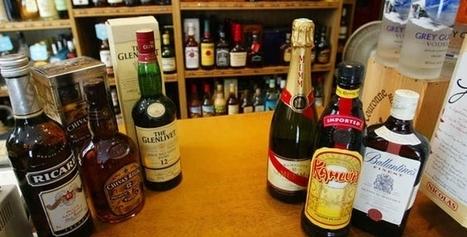 En 2015, les Français ont bu un peu moins de spiritueux | Le vin quotidien | Scoop.it