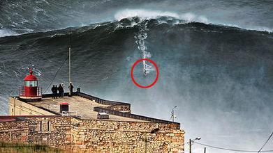 Surfer sur l'une des plus grosses vagues du monde à Nazaré | Incroyables terriens | Scoop.it