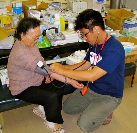 [Photo] Infirmerie à Kesennuma  | Project HOPE | Japon : séisme, tsunami & conséquences | Scoop.it