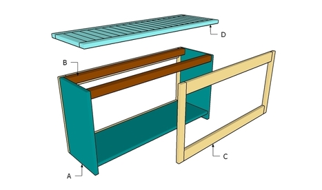 How to build a spa bench | HowToSpecialist - How to Build, Step by Step DIY Plans | Backyard Plans | Scoop.it