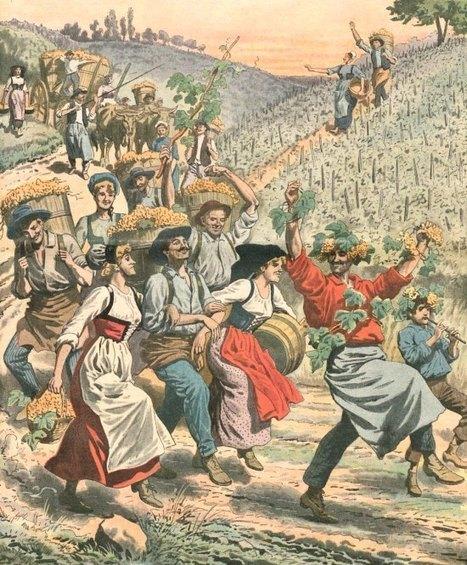 Vendanges et fêtes du vin jadis. Réjouissances, fête des Vignerons. Histoire, magazine et patrimoine | Le Vin et + encore | Scoop.it