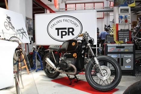 "BMW R80 ""QUORTER"" by TPR ITALIAN FACTORY 