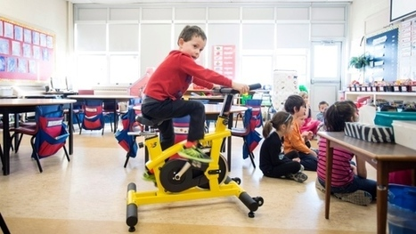 Classroom stationary bikes encourage kids to blow off steam while learning | 21st-Century Education: Socratic Learning and Radical Radicles | Scoop.it