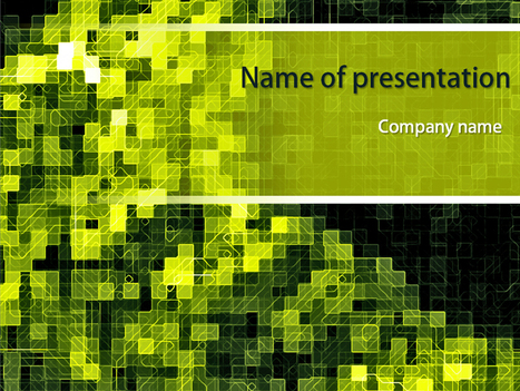 Download free Integrated Circuit powerpoint template for presentation | Powerpoint Templates and Themes | Scoop.it