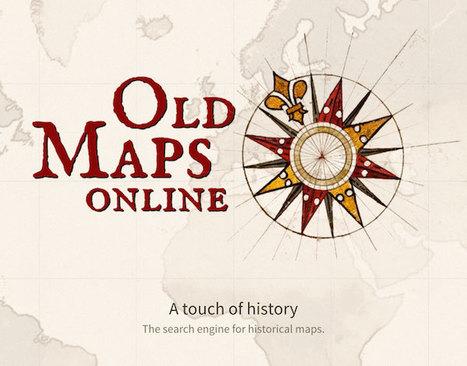 Old Maps Online : 280 000 cartes historiques en accès libre - GeneaTech | Usages numériques et Histoire Géographie | Scoop.it