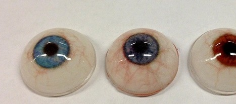 Ocular Prosthesis by Fripp Design & Research, with a ZCorp 510 | Medical Engineering = MEDINEERING | Scoop.it