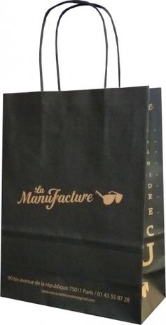 Un sac papier kraft pour La Manufacture, opticien sur Paris - Le Sac Publicitaire   Sac papier publicitaire   Scoop.it