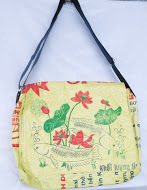 Eco-friendly Lotus Messenger Bag, ethically handmade by disabled home based women workers | Eco-Friendly Messenger Bags By Disabled Home Based Workers. | Scoop.it