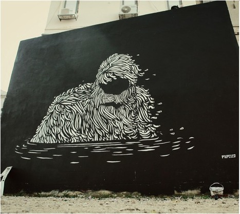 The grim surrealism of Pilpeled from Tel Aviv, Israel | STREETART.COM | World of Street & Outdoor Arts | Scoop.it
