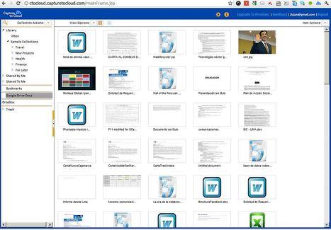 Votre contenu Web dans le cloud, Capture to Cloud | Time to Learn | Scoop.it