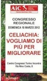 CONGRESSO AIC PIEMONTE VALLE D'AOSTA 2012 - news - AIC PIEMONTE | senza glutine | Scoop.it
