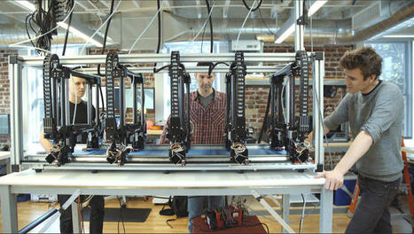 Autodesk's Project Escher Software is Super Fast 3D Printing for Large-Scale Objects | Fabrication Numérique | Scoop.it