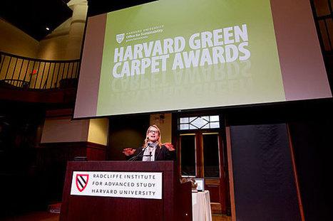 Celebrating sustainability champions - Harvard Gazette | Tourism Insight | Scoop.it