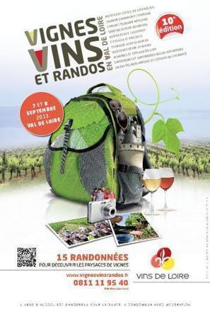 Les randonneurs partent à la conquête des vignobles du Val de Loire - LaDépêche.fr | Vignoble d'Anjou-Saumur | Scoop.it
