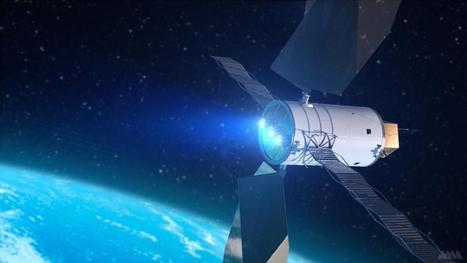 Artist's Concept of a Solar Electric Propulsion System | Infraestructura Sostenible | Scoop.it