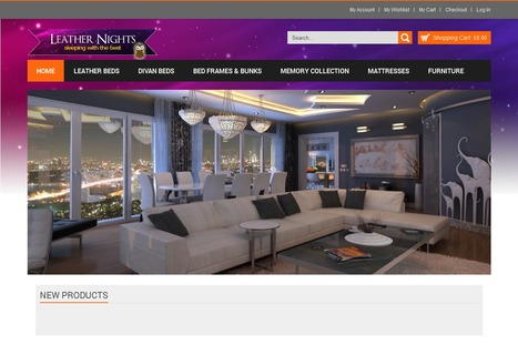 Leather Nights Bedding eCommerce Store | Magento eCommerce CMS Design and Development | Scoop.it