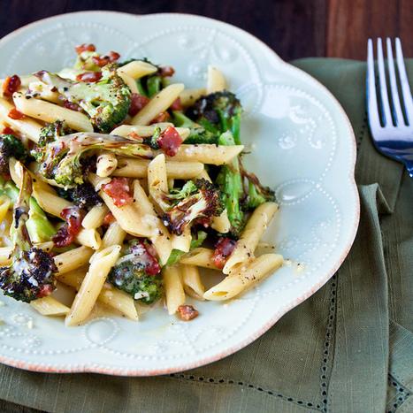 #Healthy #Recipe / Roasted Broccoli Carbonara | Cuisine | Scoop.it