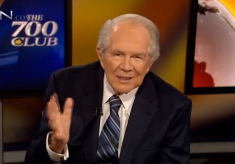 Pat Robertson Has Some Advice On How To Handle Demons In Your House | Religion in the 21st Century | Scoop.it