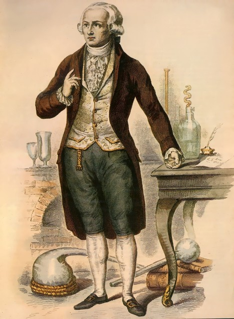 Biographie - Lavoisier | Histoire de France par ClC | Scoop.it