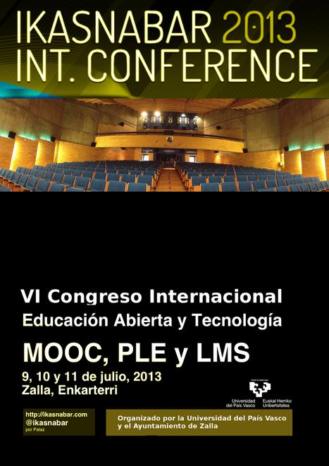 Ikasnabar '13: 6º Congreso Internacional de Educación Abierta y Tecnología | Mikel Agirregabiria | Rivadavia TIC | Scoop.it
