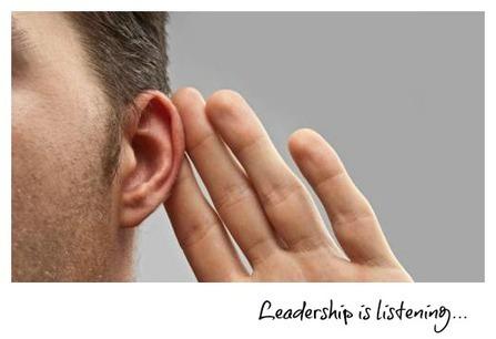 Leadership Is Listening - #bealeader | Leading with Distinction | Scoop.it