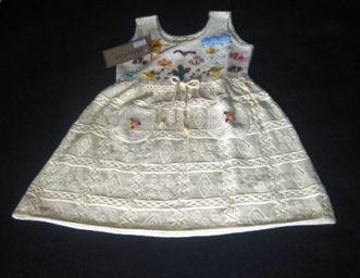 Weisses besticktes Kinder Kleid, oekologischer Pima Cotton | Produkte aus Peru | Scoop.it