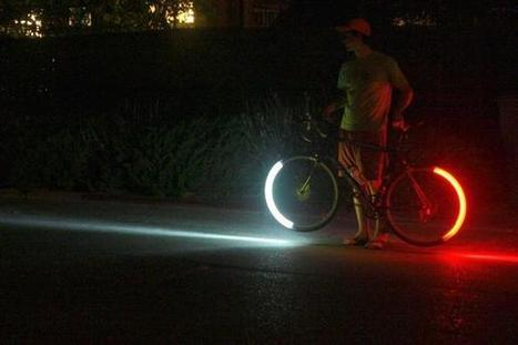 Revolights shine a glowing LED light on bike safety and design  - @TBD On Foot | N. Philly Bike | Scoop.it