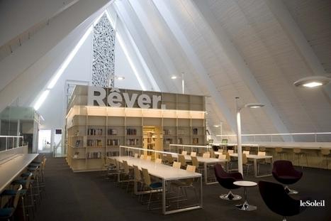 Franc succès pour une ancienne église convertie en bibliothèque ... | Planète Livres | Scoop.it