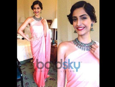 Sonam Kapoor Stuns In Pernia Qureshi | Fashion | Scoop.it