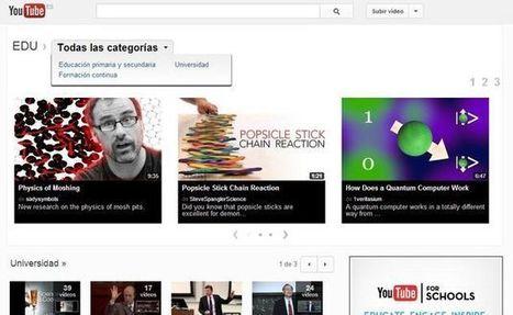 YouTube EDU, miles de vídeos educativos para formación y aprendizaje | tecnología industrial | Scoop.it