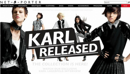 """Karl Lagerfeld Launches Augmented Reality Shopping For New Line 'KARL' - DesignTAXI.com   La """"Réalité Augmentée"""" (Augmented Reality [AR])   Scoop.it"""