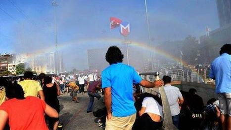 Police in Turkey blast pride parade with water cannons, 'accidentally create rainbow' | LGBT Times | Scoop.it