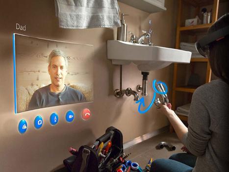 Microsoft dévoile par surprise des lunettes de réalité augmentée | Geek or not ? | Scoop.it