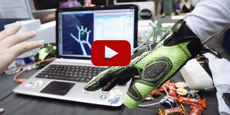 VIDEO - Ces gants sont capables de recréer virtuellement la sensation du toucher | SeriousGame.be | Scoop.it