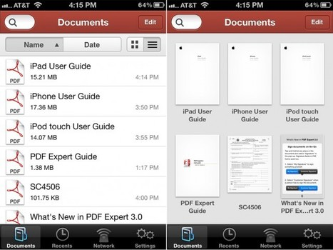 PDF Expert For iPhone Gains Audio Notes, Signature Support, And More | iPads in Education Daily | Scoop.it