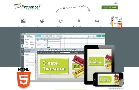 15 Impressive Tools for Creating Beautiful Presentations | Create, Innovate & Evaluate in Higher Education | Scoop.it