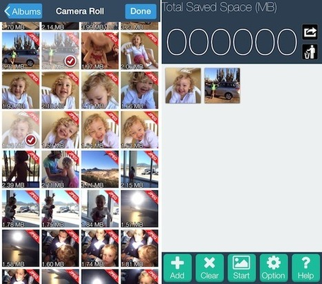 How to reduce pictures file size on iPhone | Education | Scoop.it