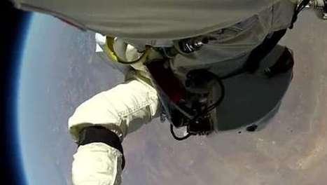 Le saut de Félix Baumgartner en caméra embarquée !   Sports   Scoop.it