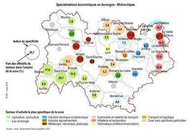 Insee - Territoire - Des territoires spécialisés au sein d'une économie diversifiée | Culture Mission Locale | Scoop.it