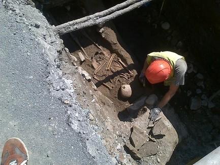 Ad Aosta scavi Telcha portano in luce matrona romana e fiume sotterraneo   LVDVS CHIRONIS 3.0   Scoop.it
