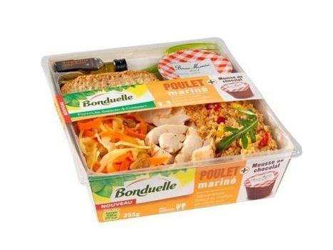 Bonduelle crée la formule salade-repas + dessert | Food & consumer goods | Scoop.it