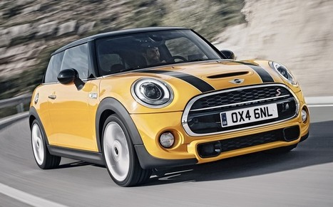 Bigger and better: BMW reveals all-new Mini - Telegraph | ultimos investos | Scoop.it