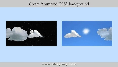 How to Create Animated CSS3 background | CSS3 & HTML5 | Scoop.it