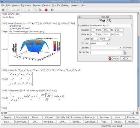 Los Primos de Fermat: Software matemático Libre: LyX y WxMaxima   Matemáticas: software libre e utilidades en internet   Scoop.it